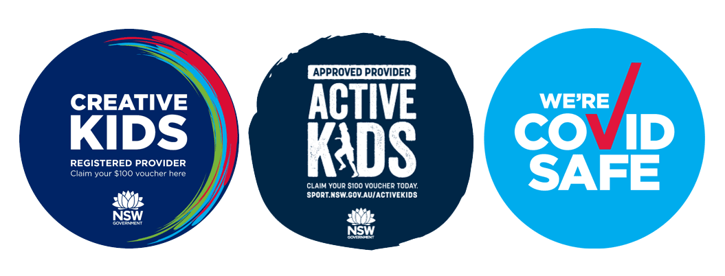 Active Kids - Creative Kids Approved Provider logos